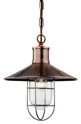 Firstlight 2306AC Antique Copper Crescent Pendant